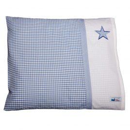 Kissenbezug mit einem Sternchen hellblau petit filou