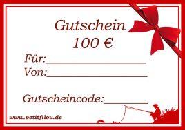 Gutschein 100Euro